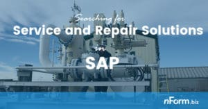 Searching for SAP Service and Repair solutions